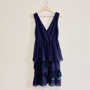 Anthropologie Ric Rac Tiered Dress